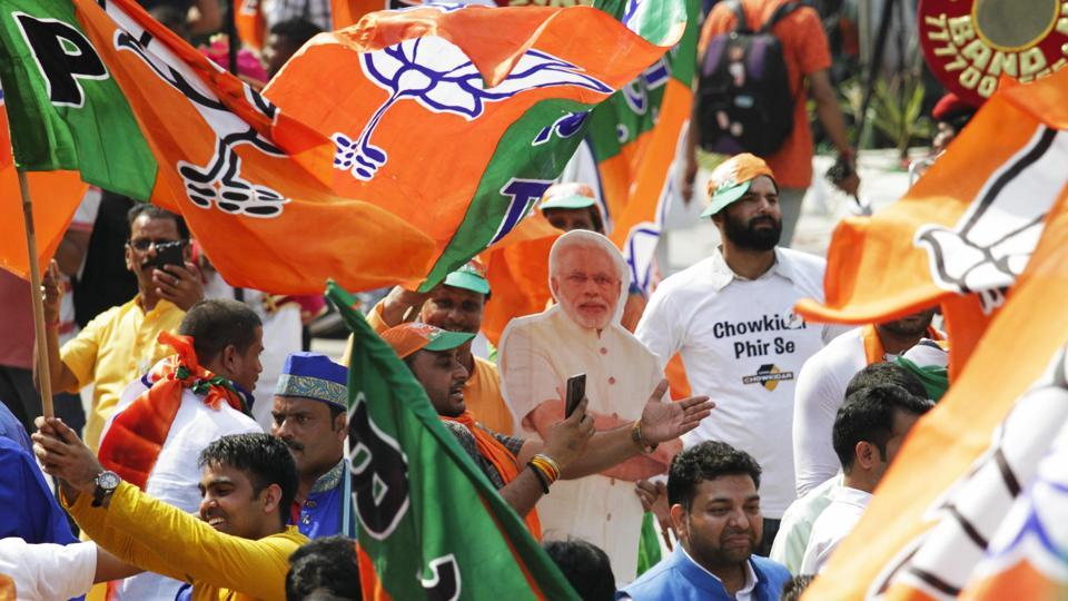 The big wins for the BJP came from Karnal where Sanjay Bhatia won by over 6.54 lakh votes; Faridabad from where Union minister Krishan Pal Gurjar won by 6.36 lakh votes; Bhiwani-Mahendragarh from where Dharambir Singh won by 4.35 lakh votes, Gurgaon where Union minister Rao Inderjit Singh won by over 3.82 lakh votes.