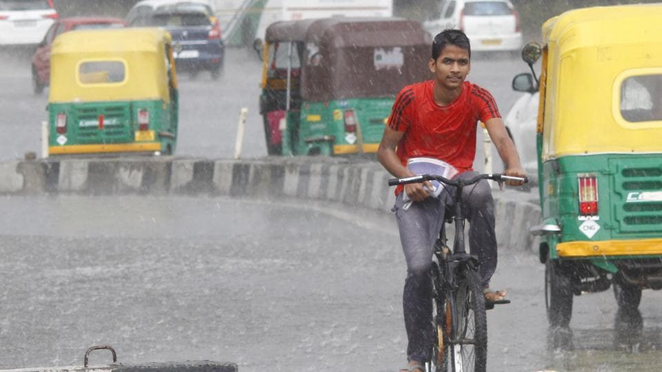 Rain with strong winds likely today, air quality set to improve