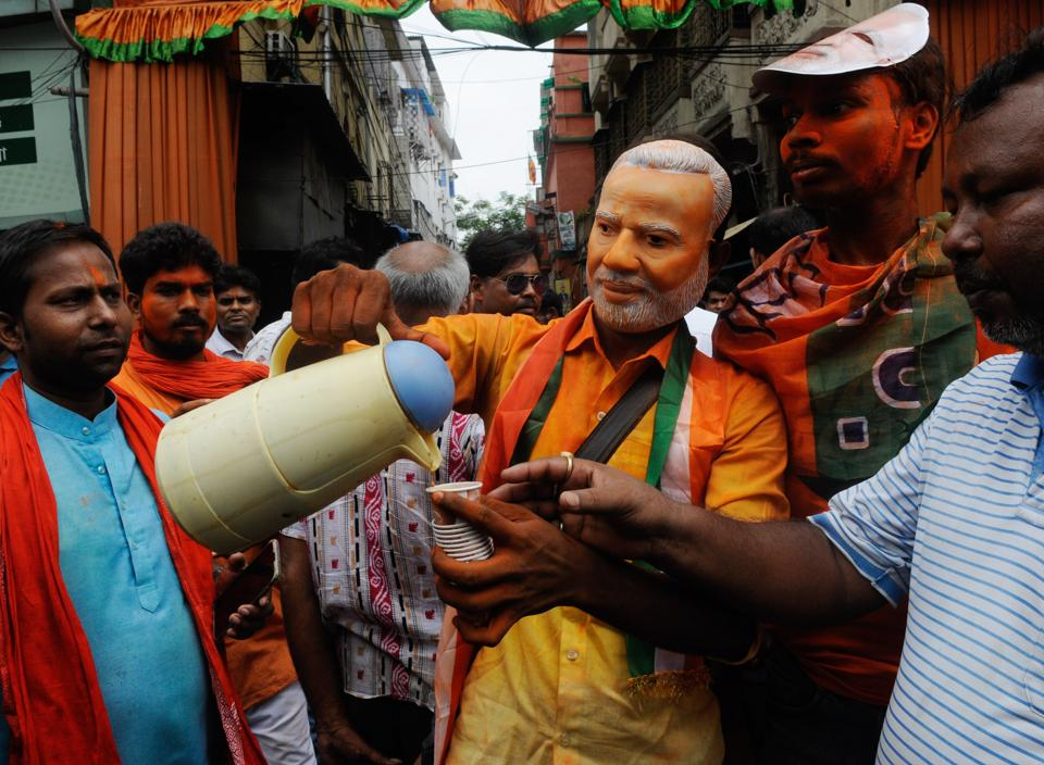 West Bengal's Bhatpara municipality became the first civic body in the state to come under the control of the BJP in Bengal.