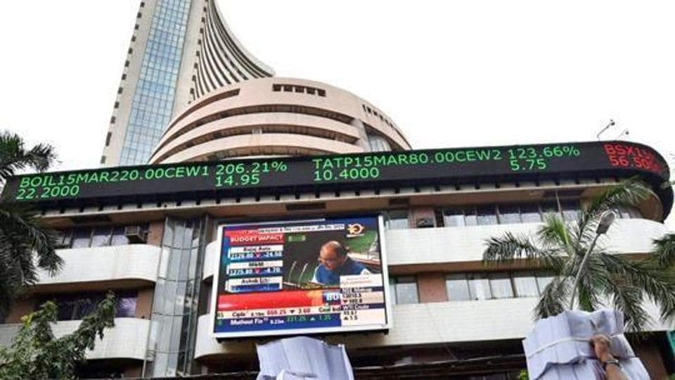 Sensex and Nifty rode a roller-coaster when the budget for 2015 was presented, and they ended the day higher.