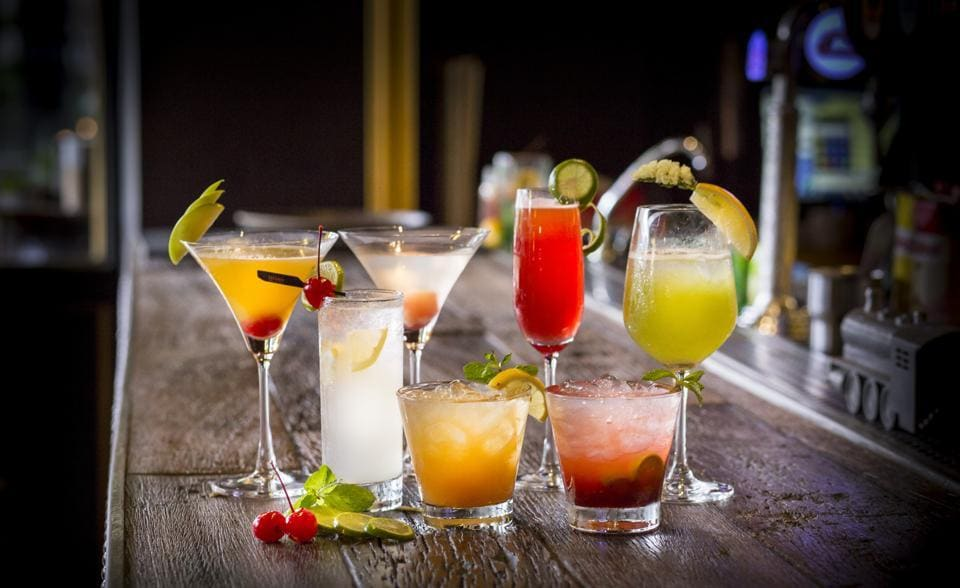 Modern day cocktails may be fun or sophisticated, simple or exotic, a pick-me-up or a relaxer