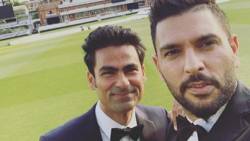 Yuvraj Singh and Mohammed Kaif have a special connection with Lord's.