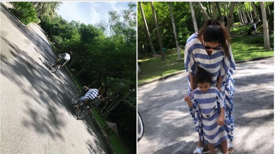 Shahid Kapoor vacationing in Thailand with family
