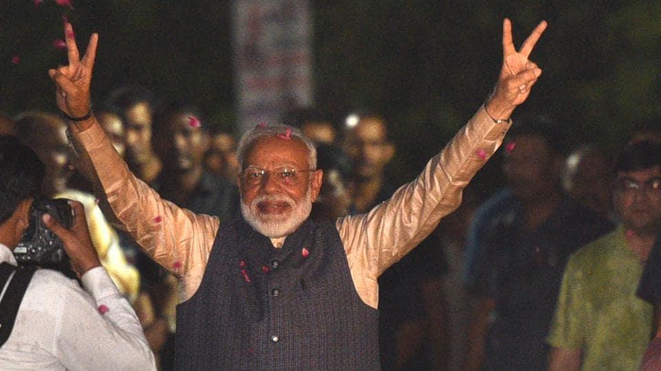 Narendra Modi,PM Modi,Lok Sabha results 2019