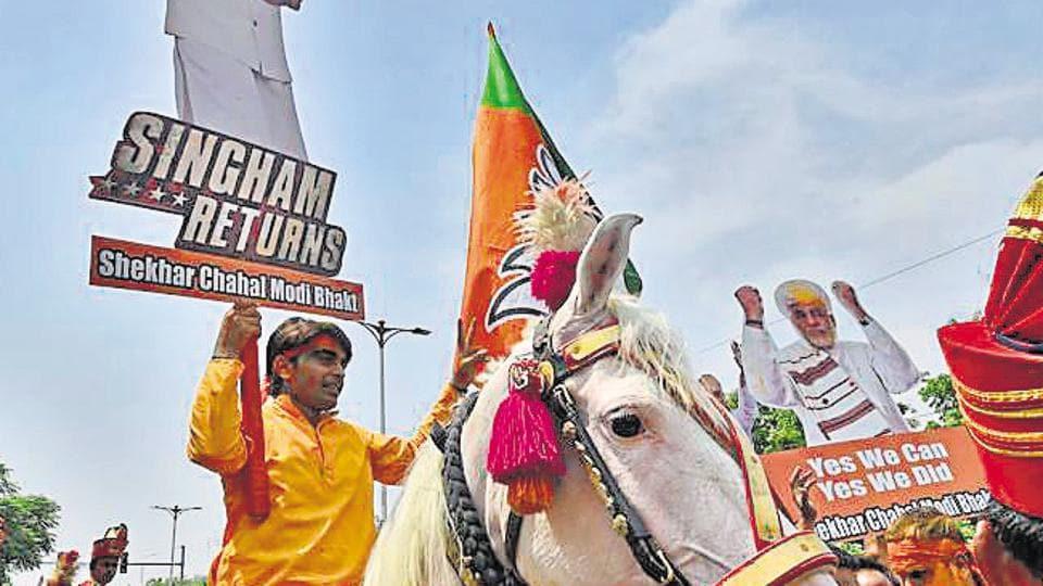 Subhash Chandra Baheria defeated Congress's Ram Pal Sharma by 612,000 votes.