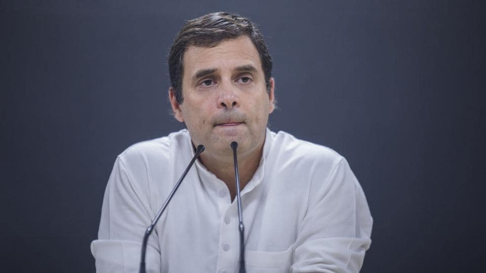 Three senior Congress leaders from Uttar Pradesh, Odisha and Karnataka have sent in their resignation to party boss Rahul Gandhi owning responsibility for the party's poor show in the national elections. The resignations are from UP Congress chief Raj Babbar, Odisha Congress chief Niranjan Patnaik and HK Patil, who was tasked to oversee the Karnataka Congress campaign in December. (Prashanth Vishwanathan / Bloomberg File)