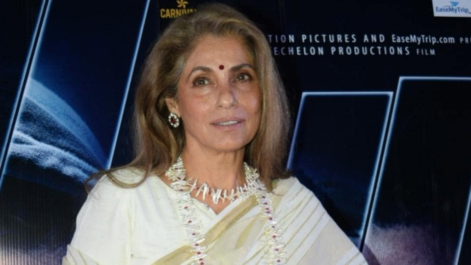 Dimple Kapadia will be seen with Robert Pattinson, Michael Caine and others in Tenet.