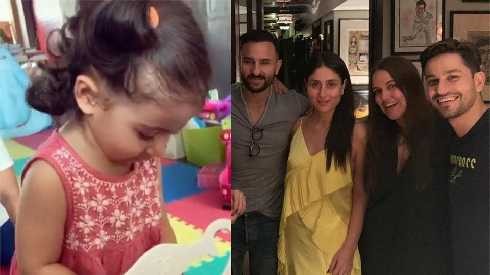 Kunal Kemmu's daughter Inaaya sings 'happy birthday papa' on a mini piano. Watch video