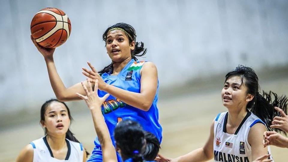 Basketball player Vaishnavi Yadav.