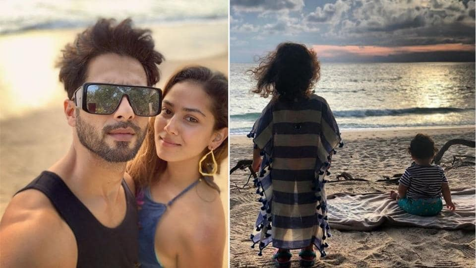 Shahid Kapoor-Mira Rajput's Thailand photos are giving us major family vacation goals!