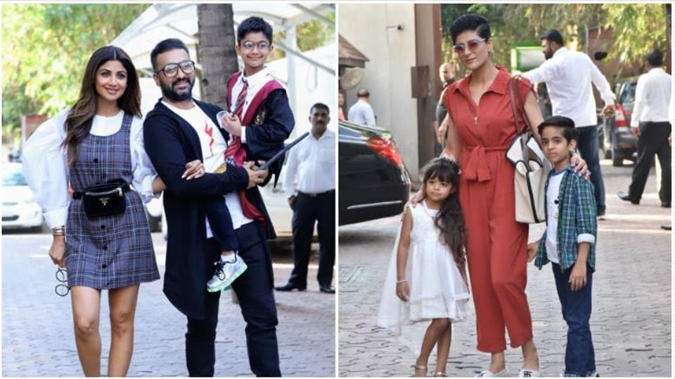 Shilpa Shetty's son Viaan celebrates birthday dressed as