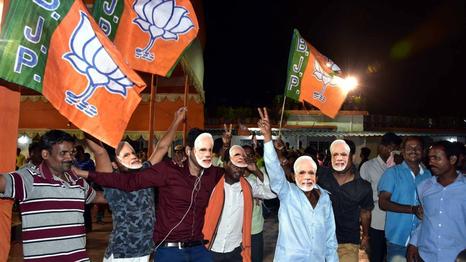 With strong leads in terms of vote share vis-à-vis its next rival in central and western India, a steadily increasing geographical footprint and aggregate vote share, BJP seems to have become the new political hegemon
