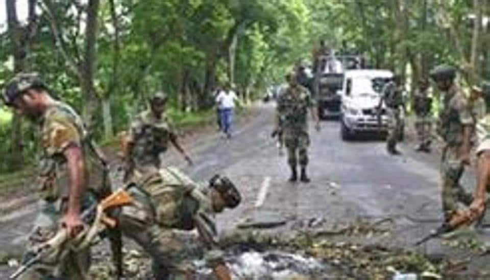 Two personnel of Assam Rifles were killed and four critically injured when a truck they were travelling in was ambushed by suspected militants of the NSCN (Khaplang) in Nagaland's Mon district on Saturday.