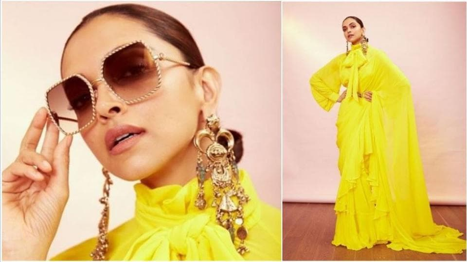 Deepika Padukone shared pictures of her new look on Instagram.