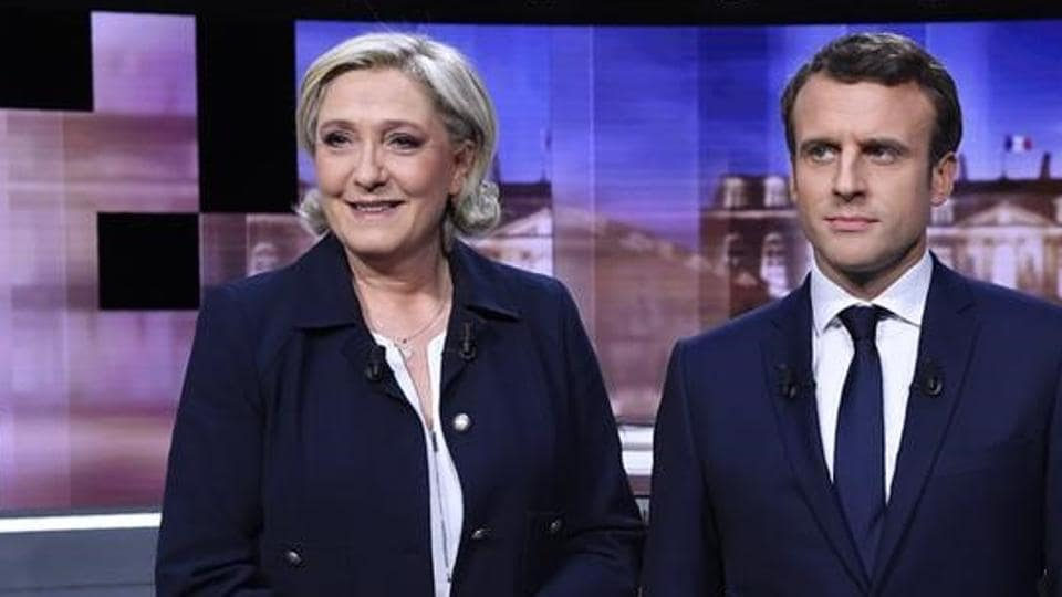 Macron, France's youngest ever president, and Le Pen have a lot riding on the results of the polls which both have pitched as a re-run of their duel for the presidency two years ago.
