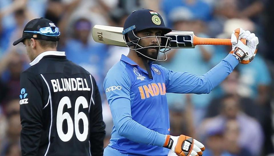 ICC World Cup 2019,India vs New Zealand warm-up,Ravindra Jadeja