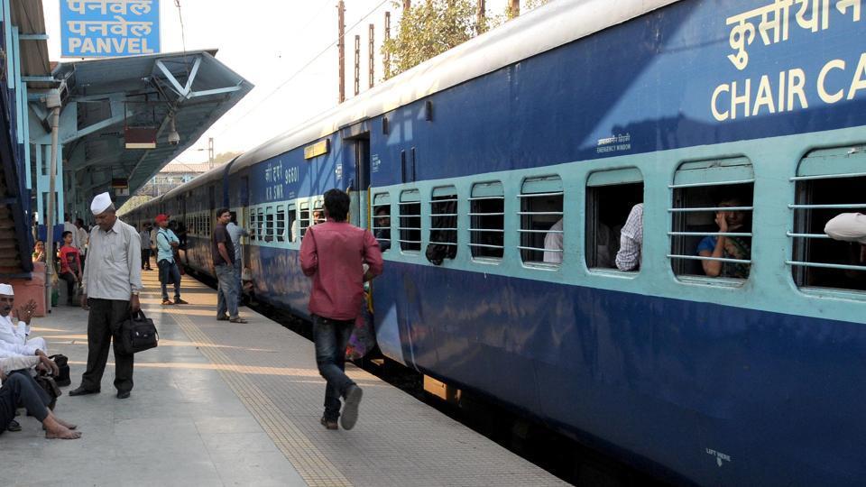 Konkan rly,trains