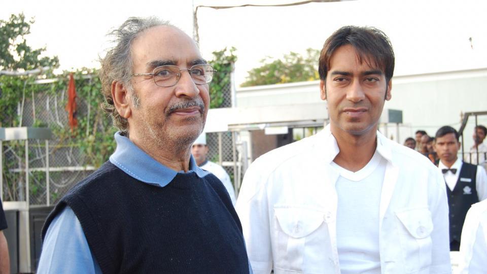 Ajay Devgn,Veeru Devgn,Ajay Devgn Father