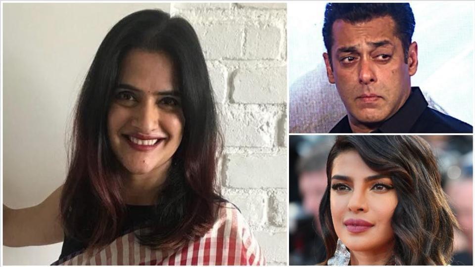 SonaMohapatra has defended Priyanka Chopra against Salman Khan's digs.