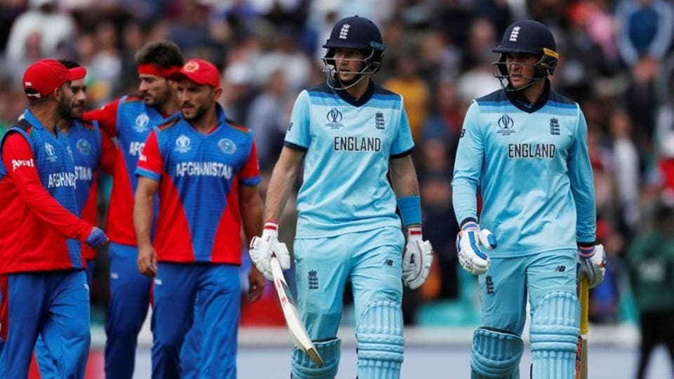 Cricket - ICC Cricket World Cup warm-up match - England v Afghanistan - Kia Oval, London, Britain - May 27, 2019 England's Jason Roy and Joe Root walk off the pitch together Action Images via Reuters/Paul Childs (Action Images via Reuters)