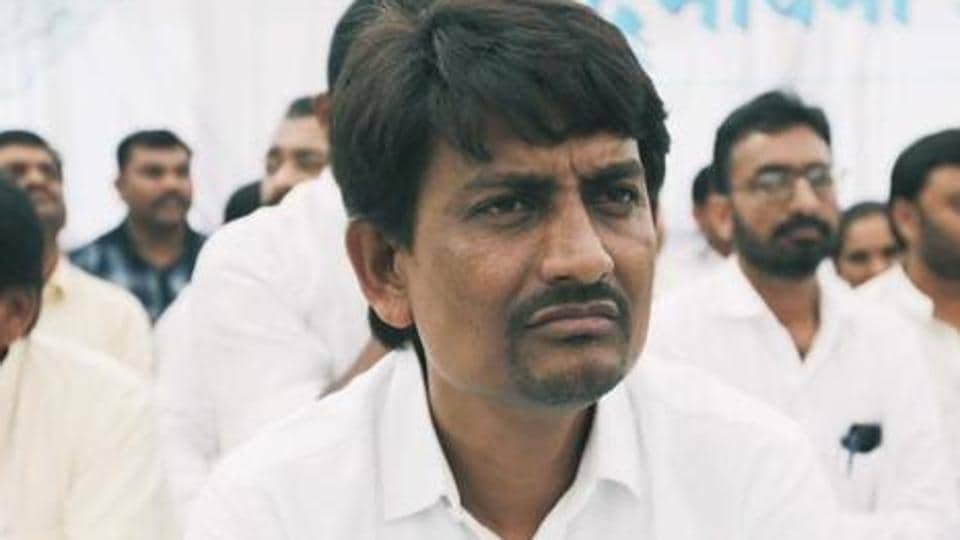 Gujarat OBC leader Alpesh Thakor Monday met deputy chief minister Nitin Patel.