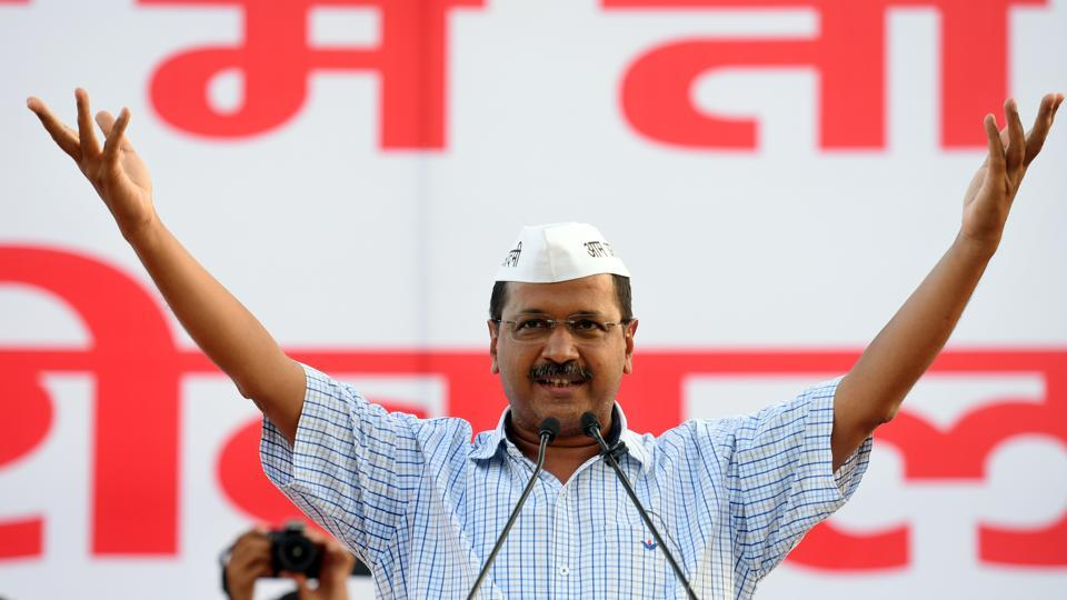 On Sunday, during its first party workers' convention after the loss in the Lok Sabha polls, the Aam Aadmi Party (AAP) launched a new slogan — 'Kejriwal in Delhi' — to gear up for the upcoming assembly polls in the city.