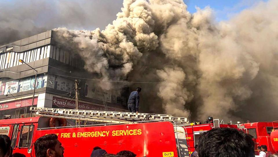 Two days after a fire at a coaching institute in Gujarat's Surat claimed 22 lives,  the Delhi Fire Service (DFS) has asked coaching institute owners across the city to provide latest buildings plans and made it mandatory to mention the number of students enrolled in each centre.
