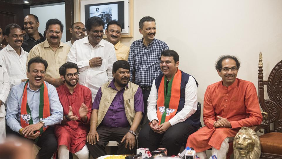 The BJP-Shiv Sena alliance  in Maharashtra earned a victory in the recent Lok Sabha election