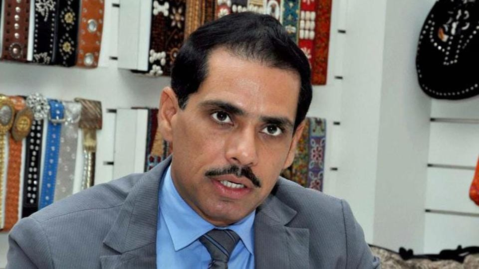 Notice To Robert Vadra On Protection From Arrest In Money Laundering Case