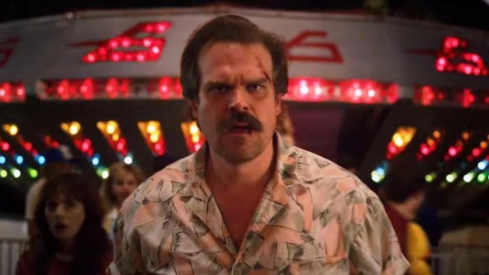 David Harbour plays Cheif Jim Hopper on Stranger Things.
