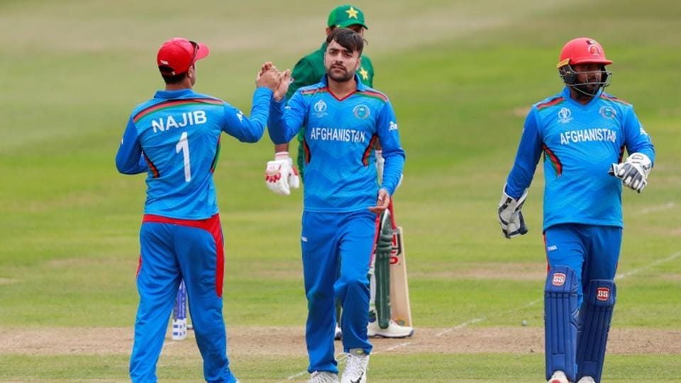 File image of Afghanistan players