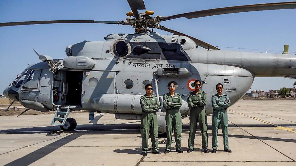 IAF,all-woman crew,Mi-17