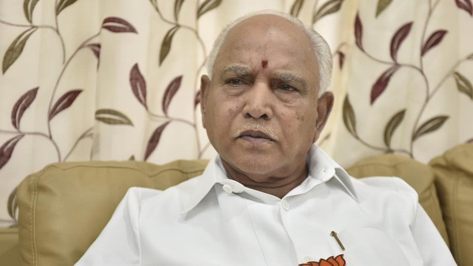 The BJP's president of Karnataka unit BS Yeddyurappa once again called for the dissolution of the Congress-JD(S) government and fresh polls in the state.