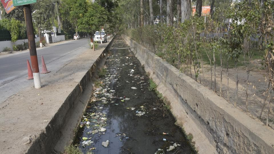 gurugram,drainage plan,village