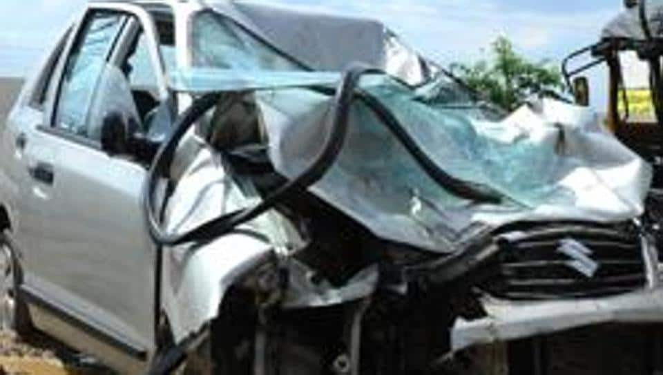 The incident occurred near Agolai village in Balesar area, where twelve people, including two children, died when two vehicles collided head-on.