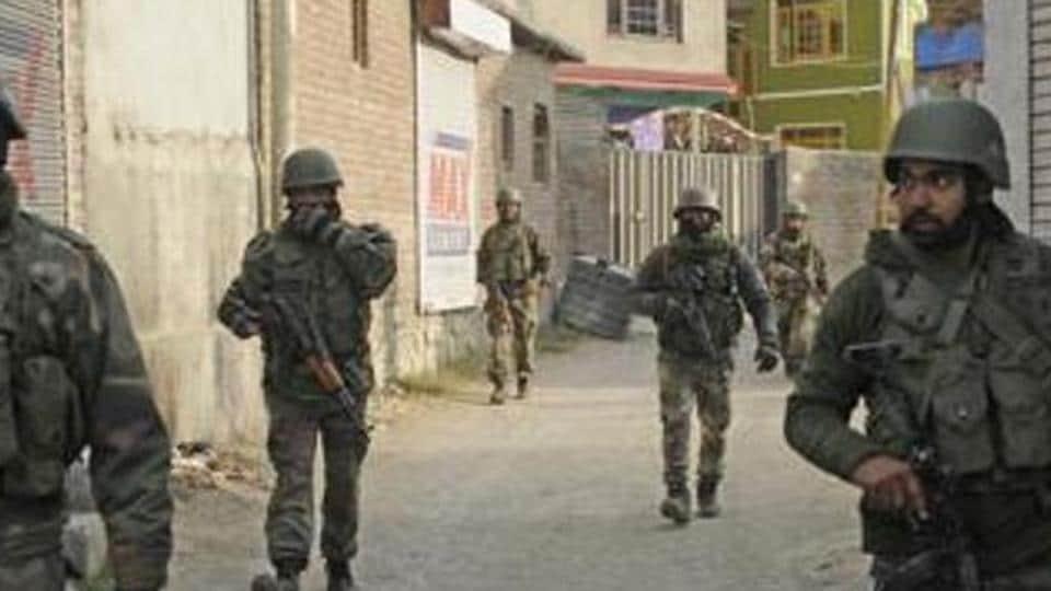 encounter in Jammu,security forces in Anantnag,Kokernag area