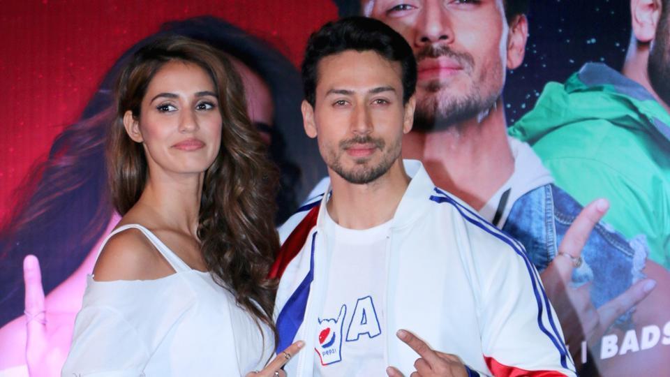 Actors Tiger Shroff and Disha Patani at an event.
