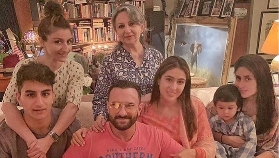 Sharmila Tagore,Kareena Kapoor,Saif Ali Khan