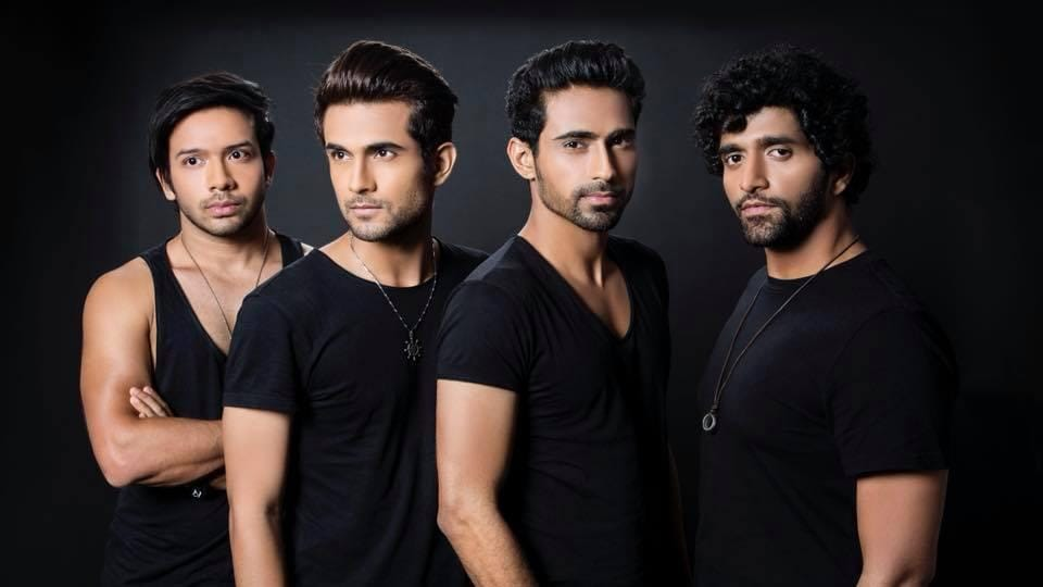 Members of the Sanam band, who are famous for their Bollywood covers
