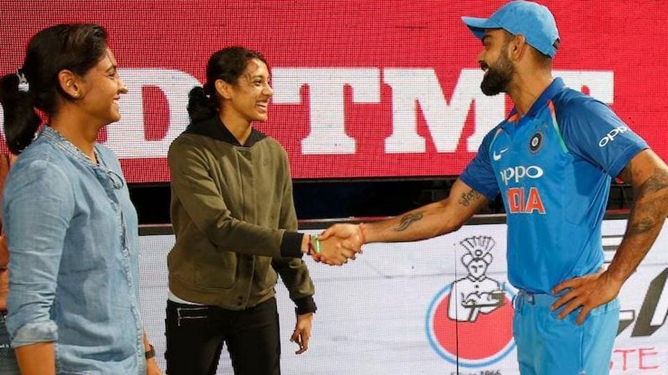 ICC World Cup 2019: Best of luck from Women in Blue