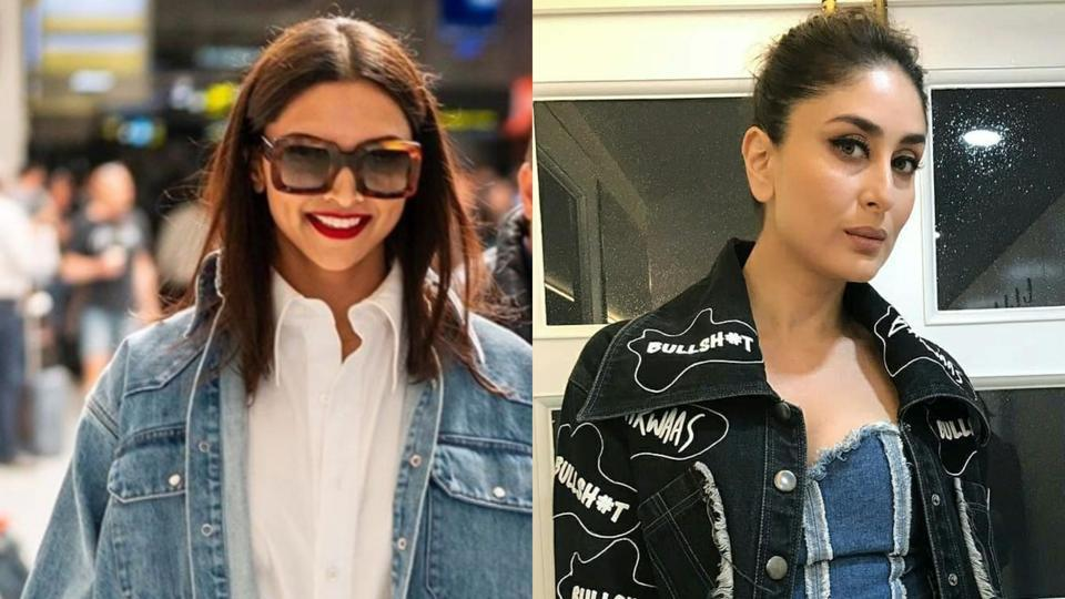 Deepika Padukone and Kareena Kapoor show you how to style a denim jumpsuit.
