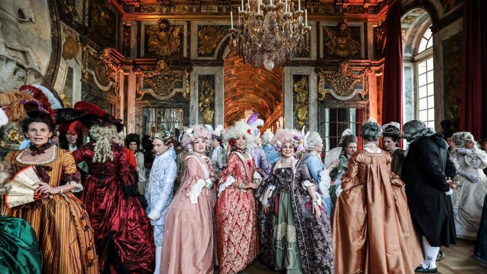 Period Costume Ball,Versailles,France's Sun King