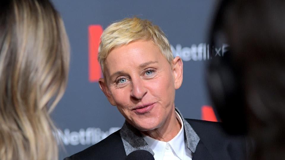 Ellen DeGeneres attends a Netflix event in Los Angeles, California.