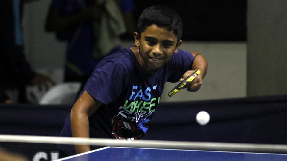 Second seed Neel Mulye began his campaign with a tricky 11-6, 12-10, 11-13, 11-8 victory over Sanath Jain in the sub-junior (under-15) boys category at the Sharada district ranking table tennis tournament 2019 held at the Sharada sports centre in Karve Nagar on Tuesday.