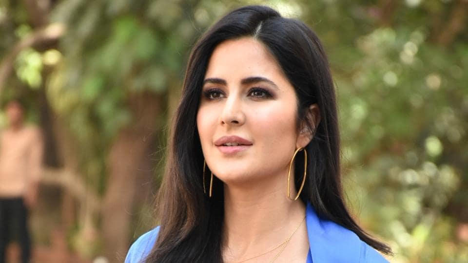 Actor Katrina Kaif seen outside a film Studio during the promotion of her upcoming film Bharat in Mumbai's Bandra.