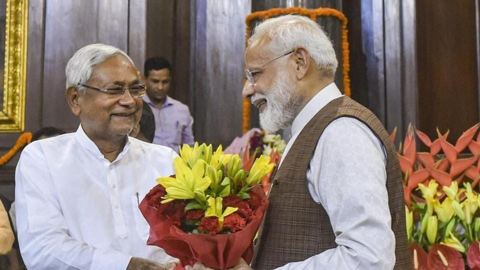 Bihar Chief Minister Nitish Kumar had recently indicated that his party wanted to join the BJP-led national coalition. (PTI)