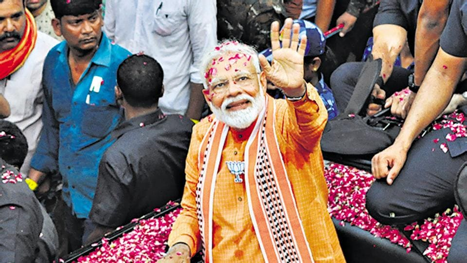 """""""Narendra Modi says no work is too small. He himself took the broom to clean (for Clean India campaign),"""" Kataria said, adding he had also ended the VIP culture."""
