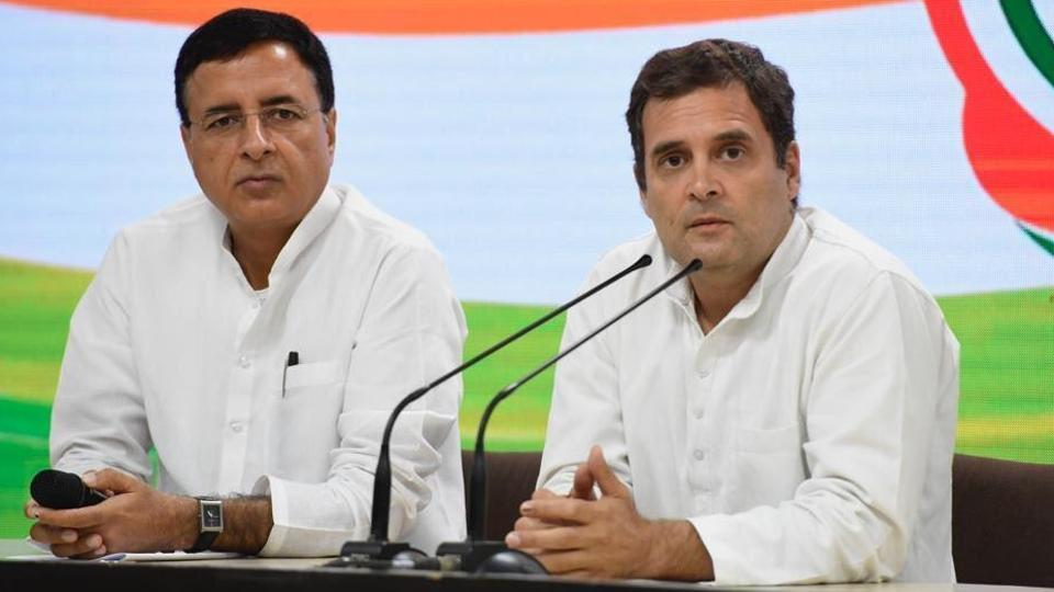 Congress,TV debate,Randeep Singh Surjewala
