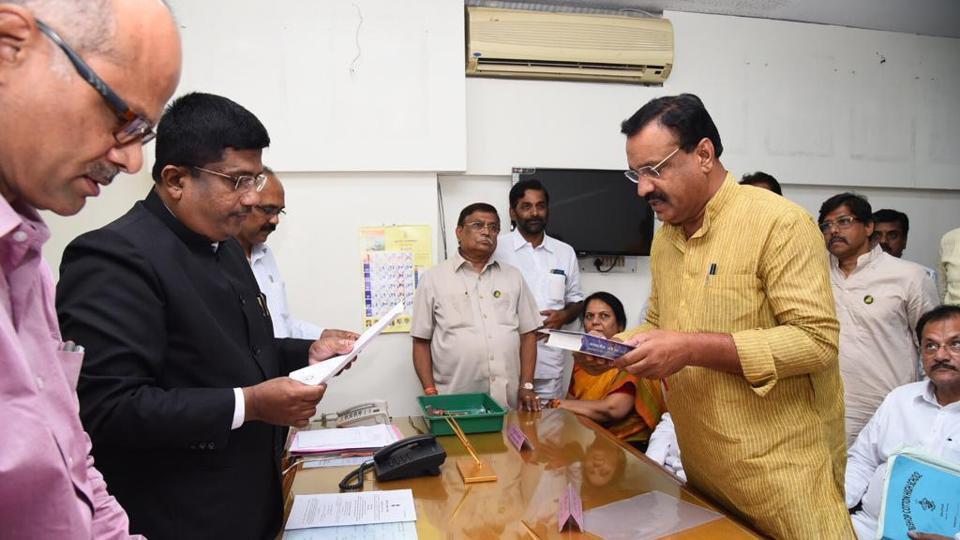 Bharatiya Janata Party's Sangli district president Prithviraj Deshmukh.