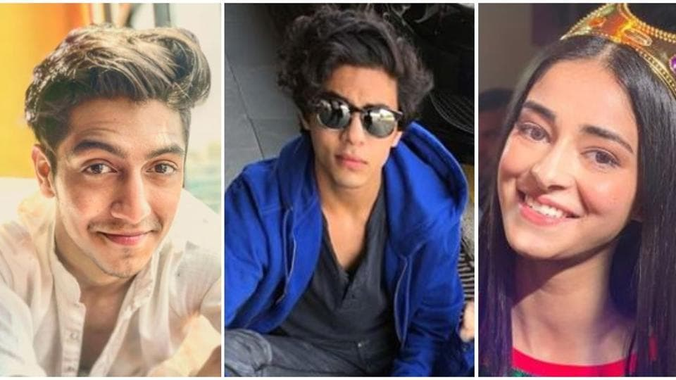 Ahaan Panday, Aryan Khan and Ananya Panday were out partying on Wednesday.